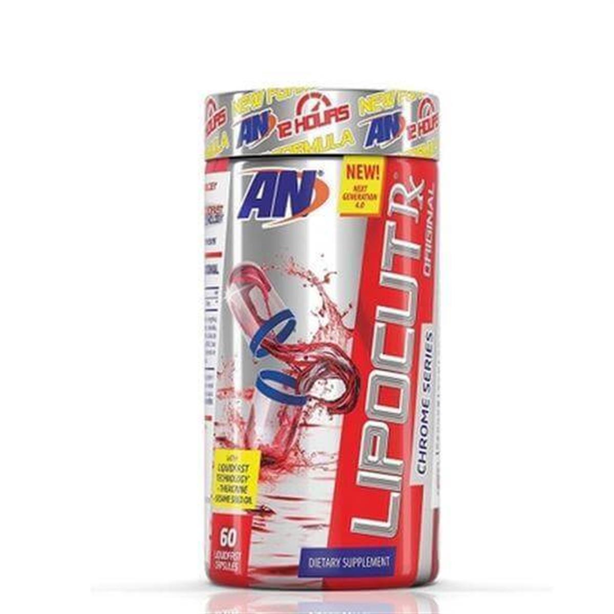 LIPO CUT RX (60 cápsulas) - Arnold Nutrition