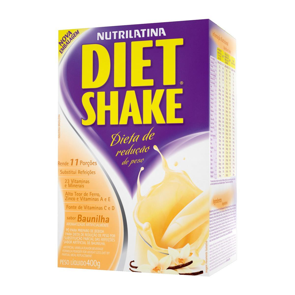 DIET SHAKE TRADICIONAL (400g) - Baunilha - AGE
