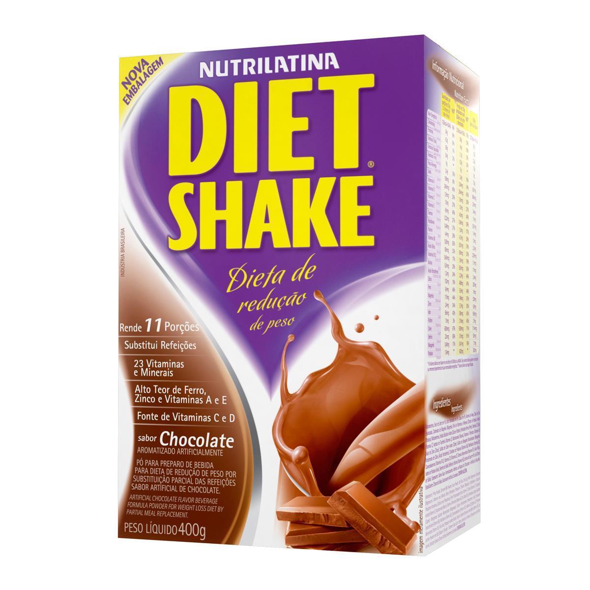 DIET SHAKE TRADICIONAL (400g) - Chocolate - AGE