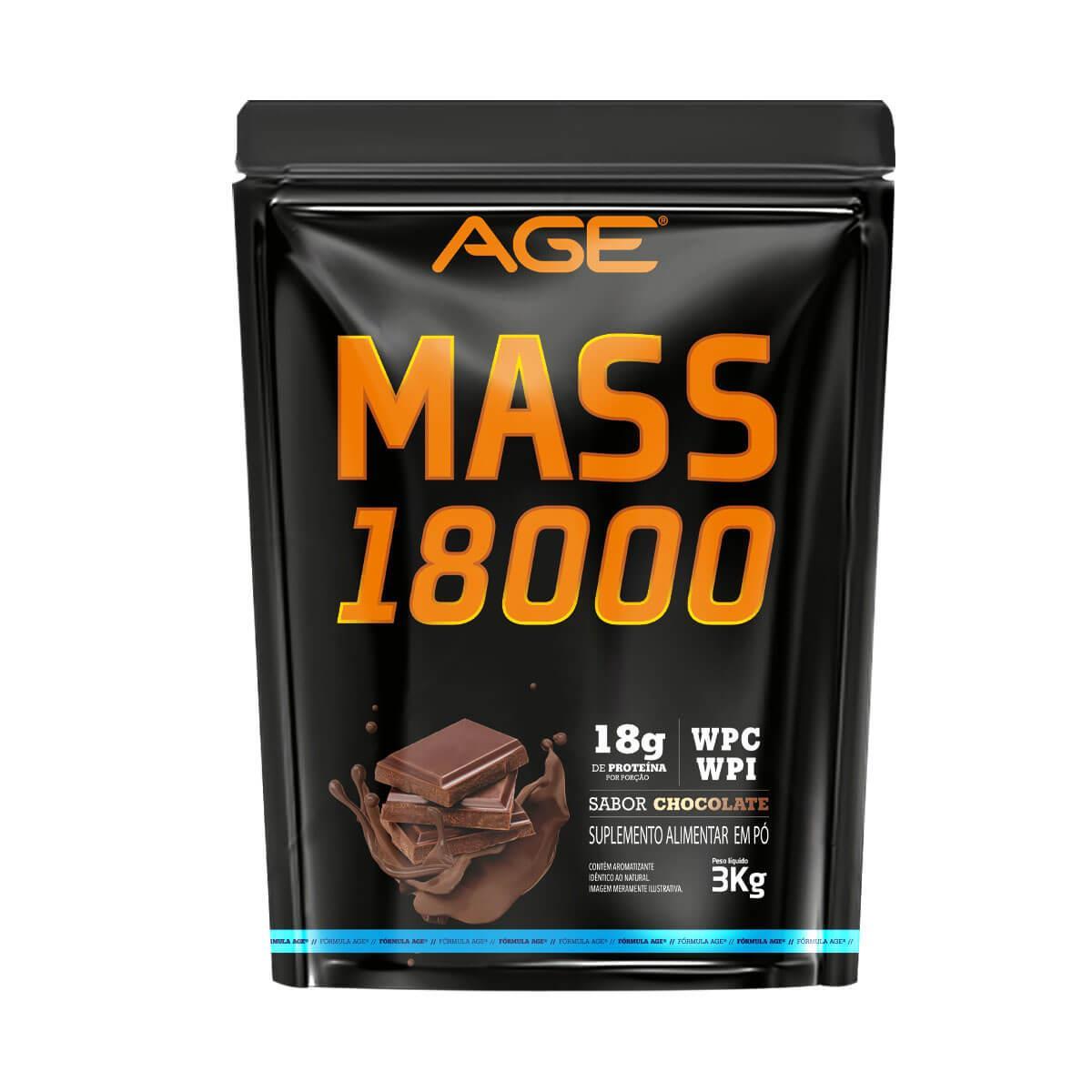 MASS 18000 (3Kg) - Chocolate - AGE
