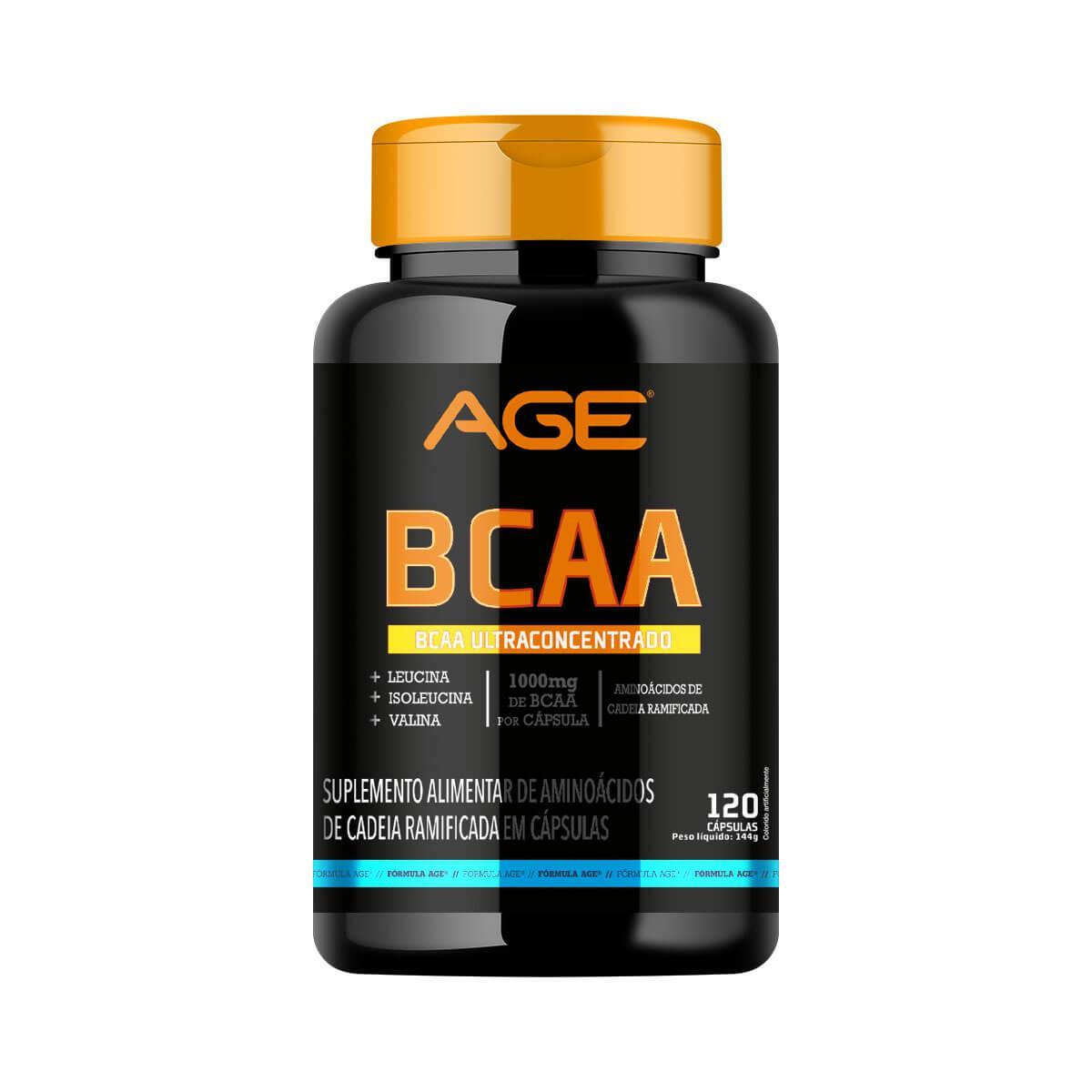 BCAA AGE (120 Cápsulas - 1000MG) - AGE