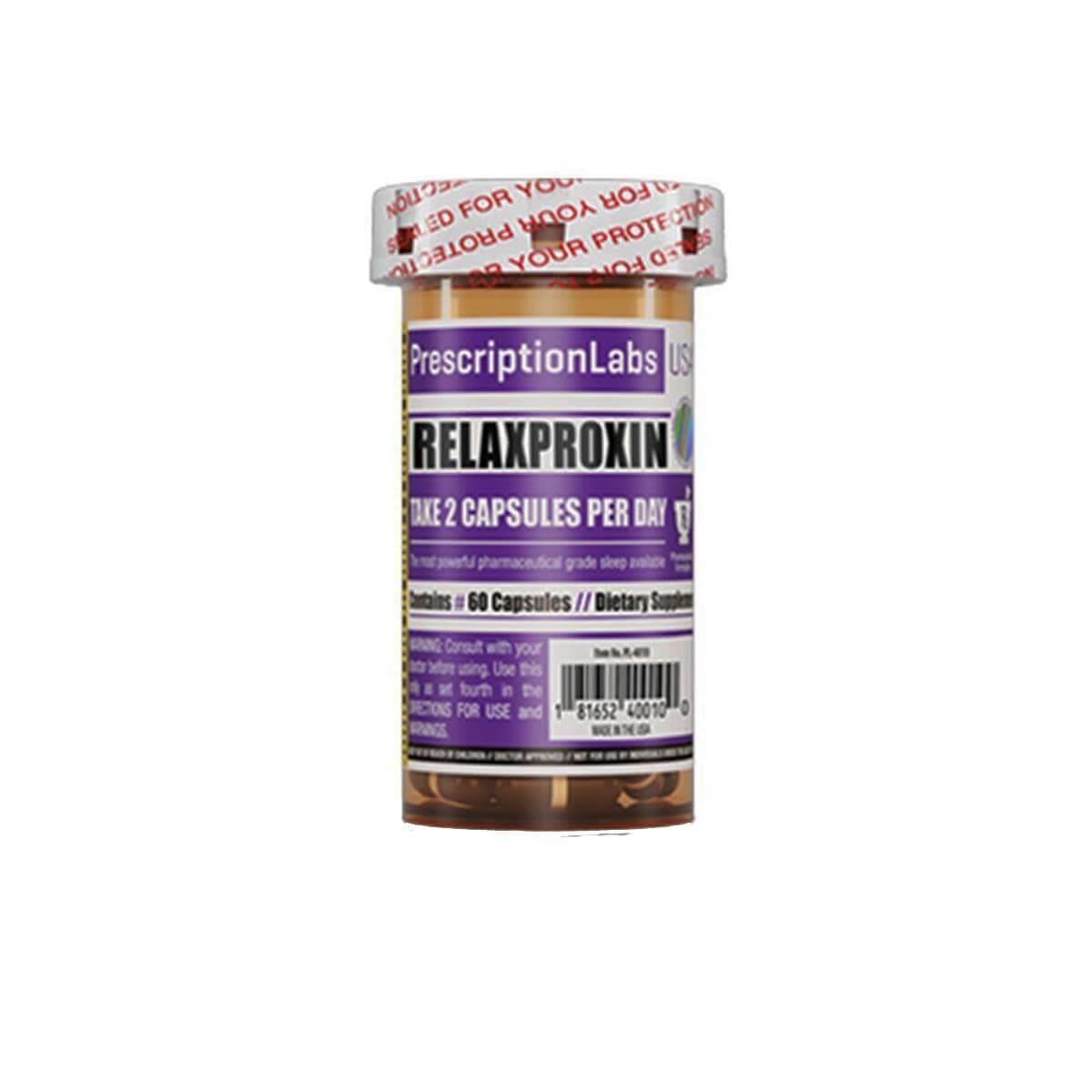 RELAXPROXIN (60 Cápsulas) - Prescription Labs