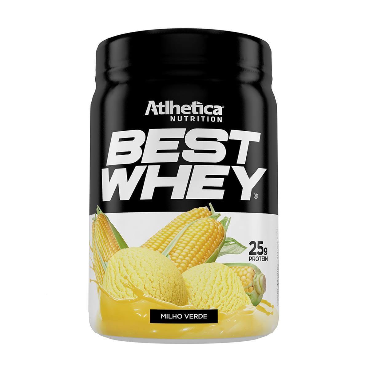 BEST WHEY (450g) - Milho verde - Atlhetica Nutrition