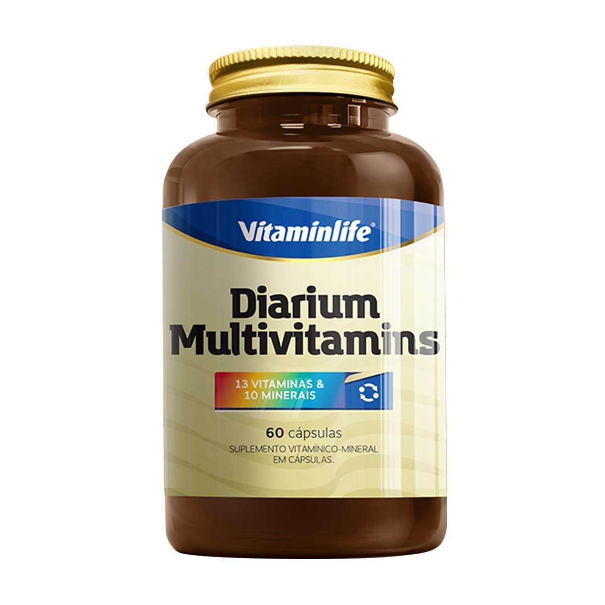 MULTIVITAMINS (60 Cápsulas) - Vitaminlife