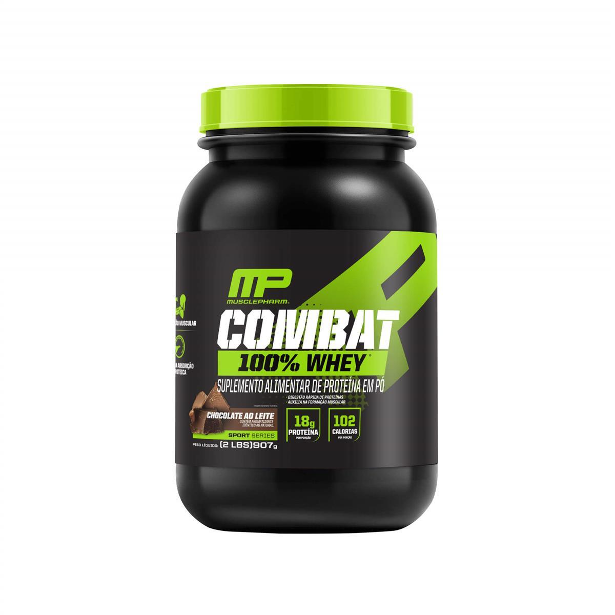 COMBAT 100% WHEY (907g) - Chocolate - Muscle Pharm