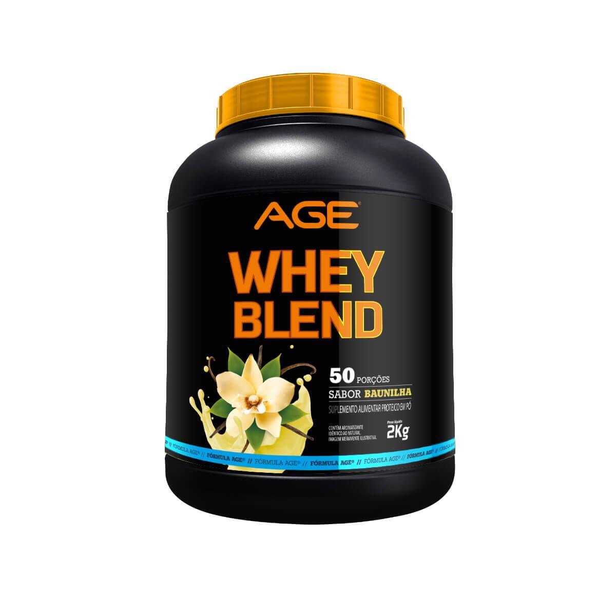 WHEY BLEND AGE (2Kg) - Baunilha - AGE