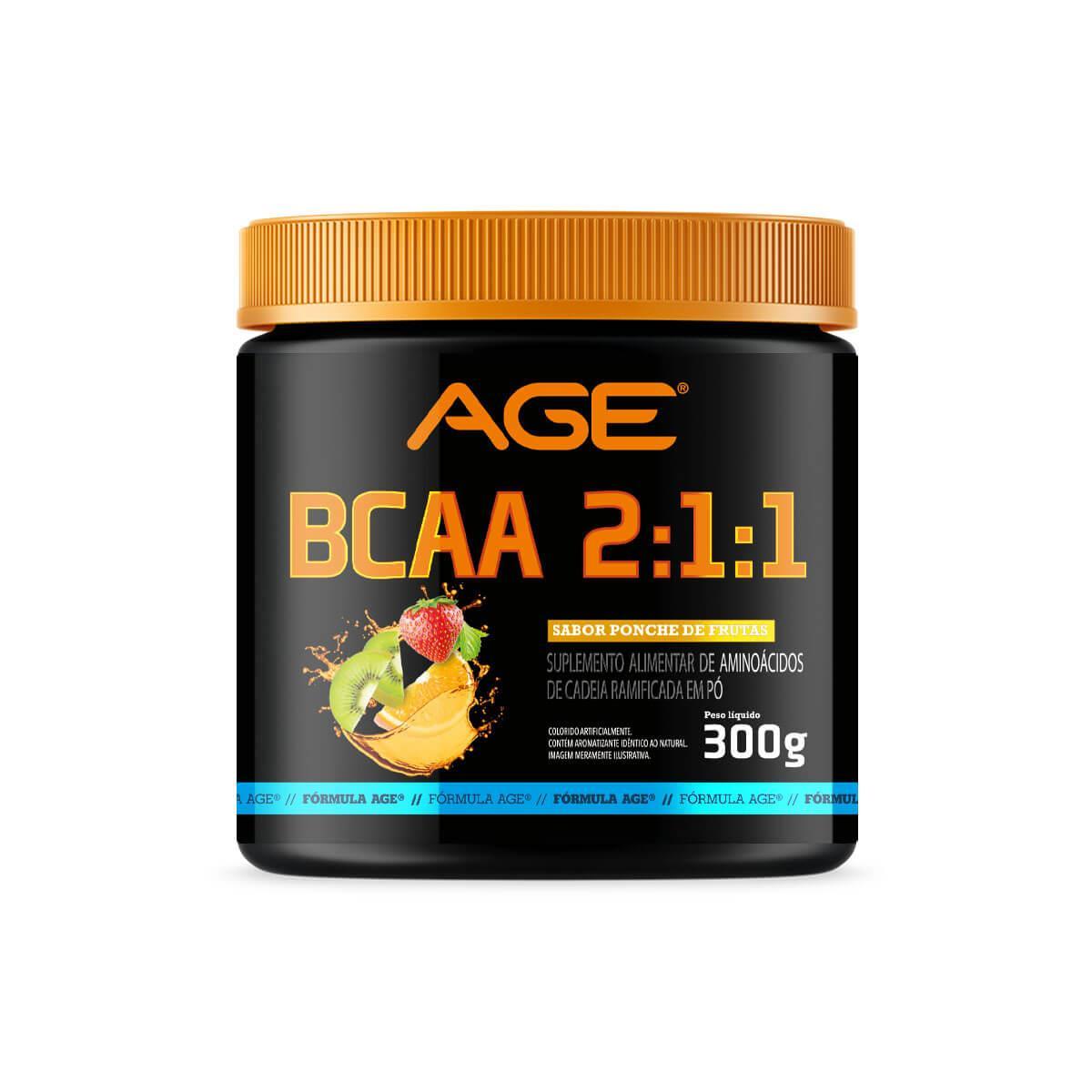 BCAA AGE (300g) - Ponche de Frutas - AGE