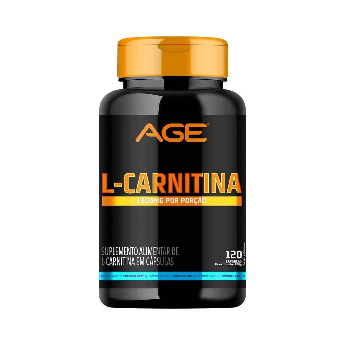 L-CARNITINA (120 Cápsulas) - AGE
