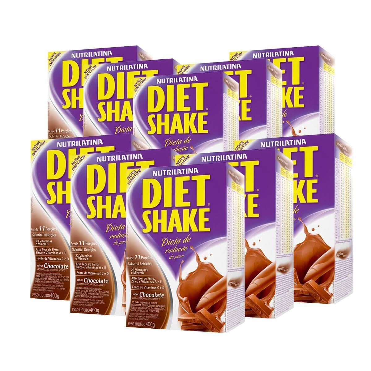 10x Diet Shake (400g) - Chocolate - AGE