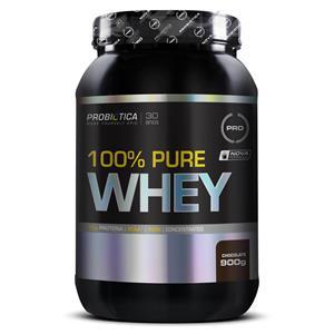 820989f2e 100% PURE WHEY (900g) - Chocolate - Probiótica
