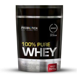 f181144bb 100% PURE WHEY (825g) - Morango - Probiótica
