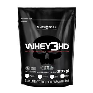 REFIL WHEY 3 HD (837g) - Chocolate - Black Skull db4f36af9c3ff